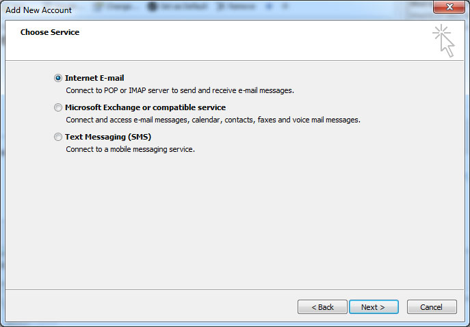 RunMail Outlook 2010 Setup - step 6