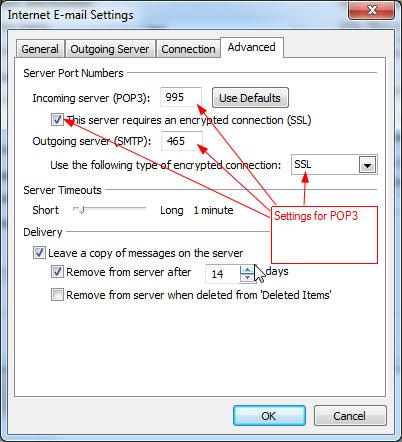 RunMail Outlook 2010 Setup - POP3 b