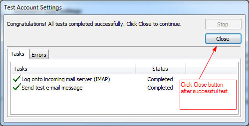 RunMail Outlook 2010 Setup - step 9